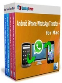 Backuptrans Android iPhone WhatsApp Übertragung + für Mac (Family Edition)