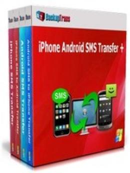 Backuptrans iPhone Android SMS Transfer + (Edición Familiar)
