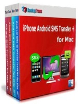 Backuptrans iPhone Android SMS Transfer + para Mac (Edición Personal)