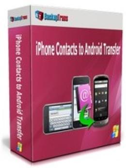 Copia de seguridad de los contactos del iPhone a Android Transfer (Family Edition)
