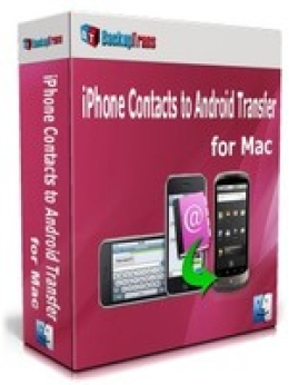 Backuptrans iPhone Contacts to Android Transfer pour Mac (Family Edition)