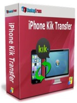 Backuptrans iPhone Kik Transfer (Edición Profesional)