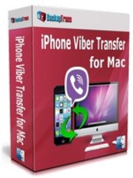 Backuptrans iPhone Viber Transfer para Mac (Edición Personal)