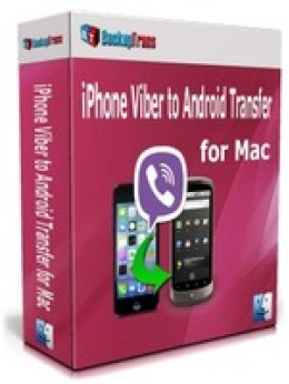 Backuptrans iPhone Viber to Android Transfer for Mac (Personal Edition)