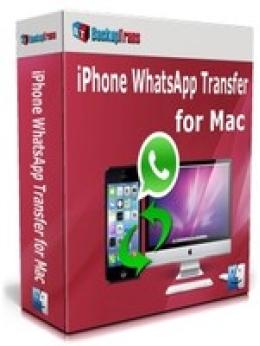 Backuptrans iPhone WhatsApp Transfer pour Mac (édition familiale)