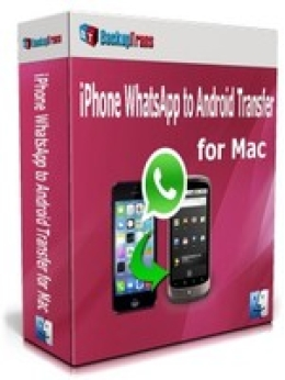 Backuptrans iPhone WhatsApp to Android Transfer for Mac(Personal Edition)