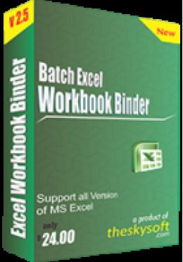 Batch Excel Workbook Binder