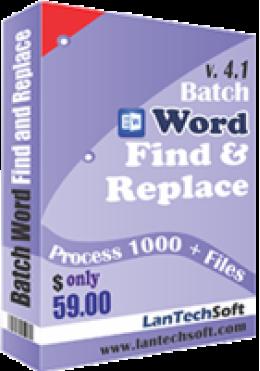 Batch-Wort Suchen & Ersetzen