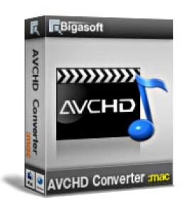 Bigasoft AVCHD-Konverter für Mac