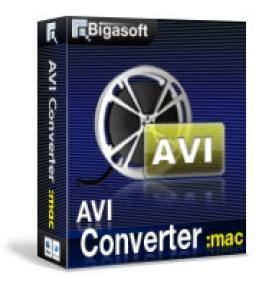 Bigasoft AVIファイルコンバータfor Mac