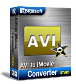 Mac用のiMovieコンバータへのBigasoft AVI