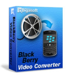 Bigasoft BlackBerryビデオコンバータ