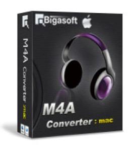 Mac用Bigasoft M4Aコンバータ