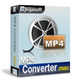 Bigasoft MP4 Converter for Mac