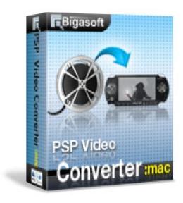 Bigasoft PSP Video Converter für Mac