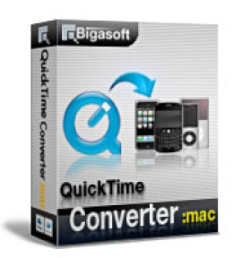 Mac用Bigasoft QuickTimeコンバータ
