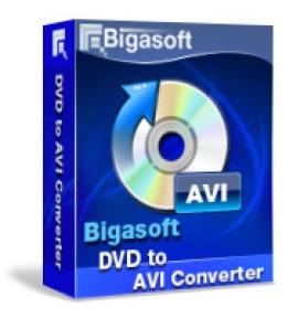 Windows用のBigasoft VOBからAVIへの変換