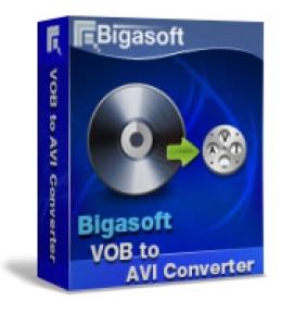 Bigasoft VOBからAVIへの変換