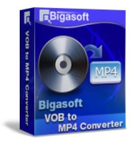 Convertitore da VOB a MP4 di Bigasoft