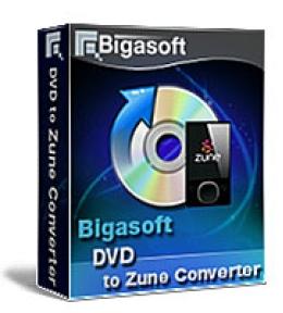 Bigasoft VOB to Zune Converter for Windows