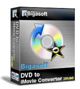 Bigasoft VOB to iMovie Converter for Mac OS