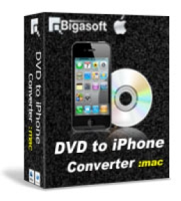 Bigasoft VOB to iPhone Converter for Mac OS
