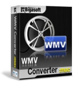 Mac用のBigasoft WMVコンバータ