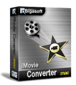 Bigasoft iMovie Converter for Mac - 15% Coupon Code