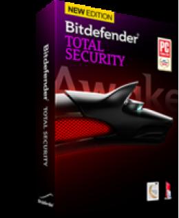 Bitdefender Total Security 2014 10-PC 1-Year