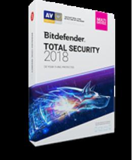 ビットディフェンダートータルセキュリティ2018