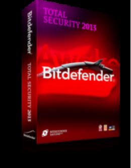 Bitdefender Total Security 3 PCa 1 Godina