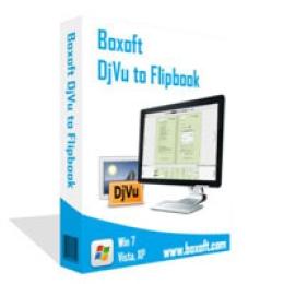 Boxoft DjVu a Flipbook