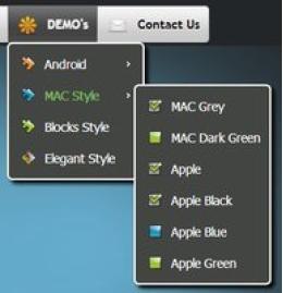 CSS3 Menu for Mac - Single Website License