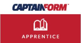 CaptainForm - Apprentice Promo