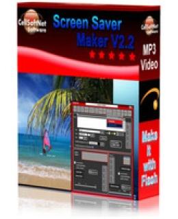 CellSoftNet Screensaver Maker