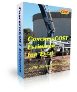 ConcreteCOST Estimator for Excel