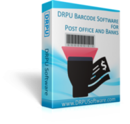 DRPU Post Office et Bank Barcode Label Maker Software