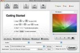 DVDをMac用のiPodに変換する