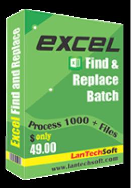 Excel Trouver et remplacer le lot