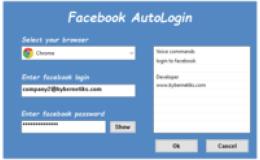 Facebook AutoLogin