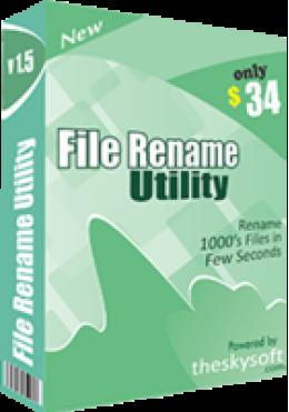 File Rename Utility