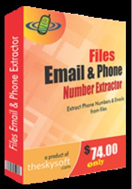 Fichiers Email et numéro de téléphone