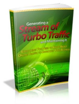 Generating a Stream Of Turbo Traffic Promo Code