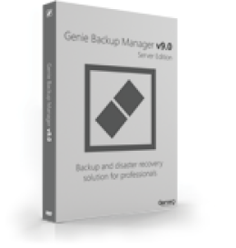 Genie Backup Manager Server Standard 9