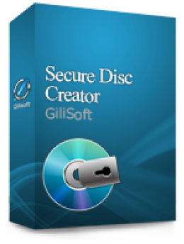 Gilisoft Secure Disc Creator Command-line  Version  - 1 PC / Liftetime free update Promo Coupon Code
