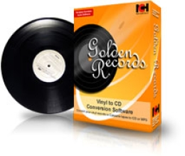 Golden Records Vinyl auf CD Konverter