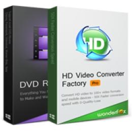 HD Video Converter Factory Pro + WonderFox DVD Ripper Pro