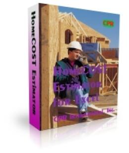 Homecost Estimator for Excel