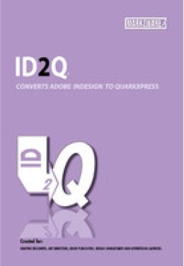 ID2Q (for QuarkXPress 8.5) Mac (non supported) Promo code