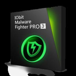 IObit Malware Fighter 3 PRO Kit de Presente - SD+IU+PF